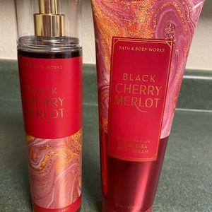 Black cherry merlot set